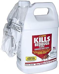 JT Eaton 204-O1G Kills Oil Based Bedbug Spray with Sprayer Att, 1-Gallon, Multicolor