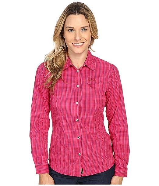 Jack Wolfskin Hemd Centaura Flex W's LS Bluse Damen: Amazon