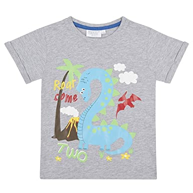 BABY TOWN Boys Birthday Age T Shirts Summer Top 1 6 Years Great Gift Idea Amazoncouk Clothing