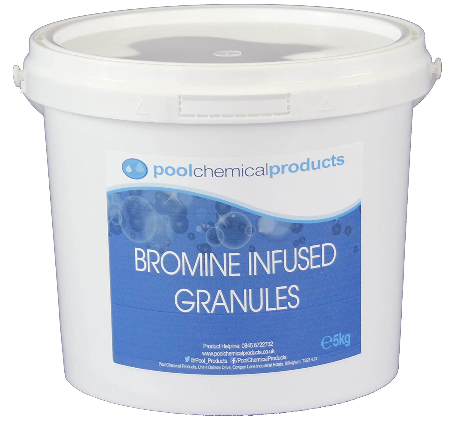 Bromine Infused Granules 5kg Swimming Pool Spa Hot Tub Pool Chemical Products