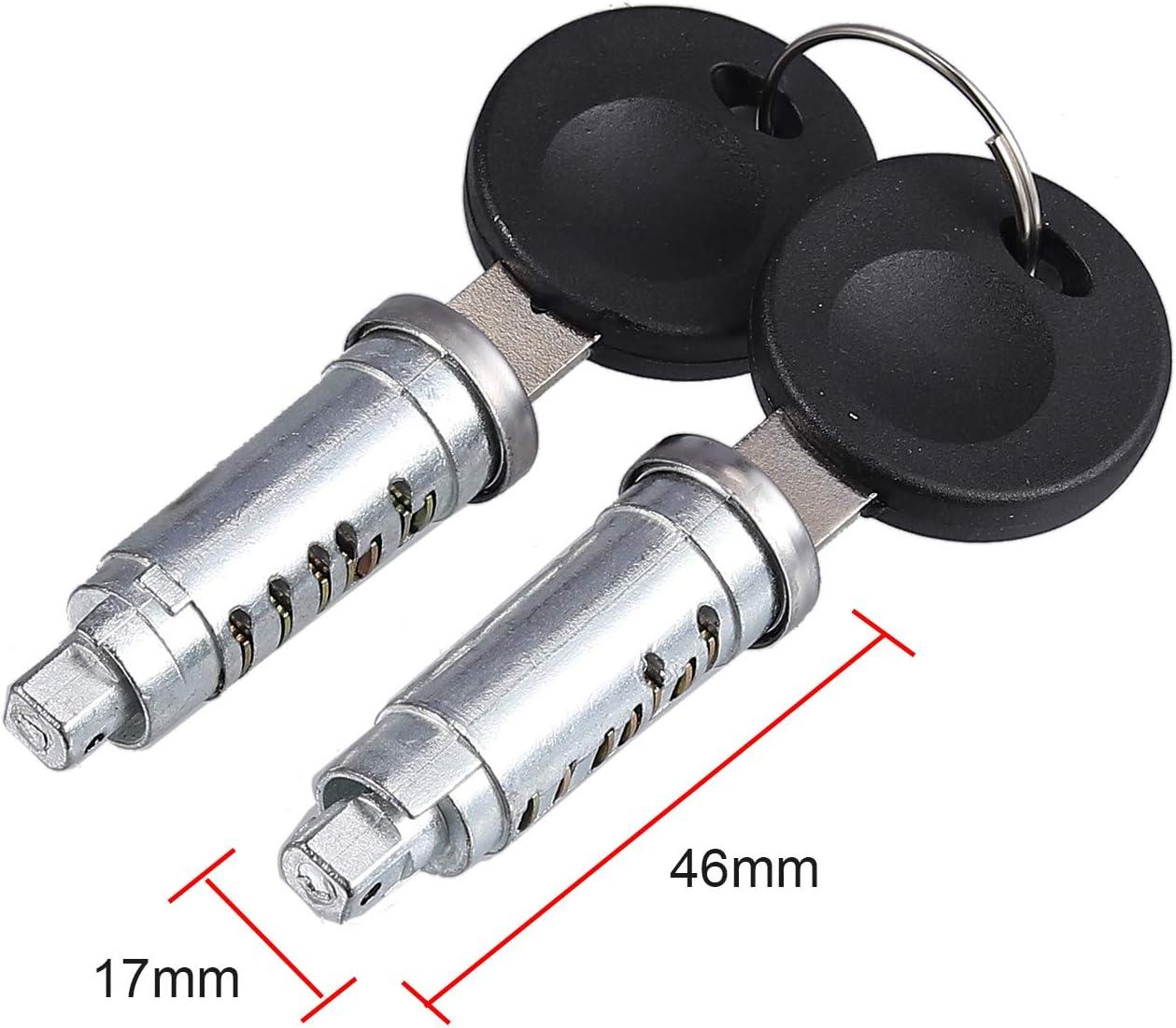 eGang/Auto New 7Pcs//Set 1 Ignition Switch 4 Door Lock Barrel W//2 Keys For T4 Caravelle MK IV 1990-2003 Transporter 701837205