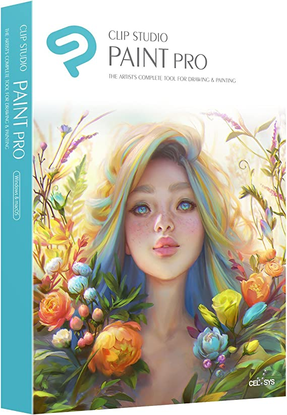 Clip Studio Paint EX 1.9.4 Full Version + Materials
