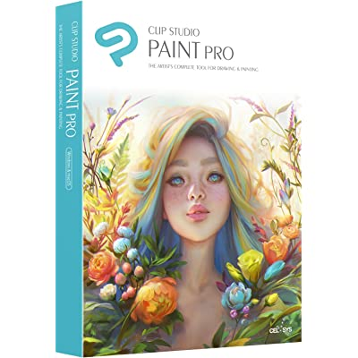 CLIP STUDIO PAINT PRO - NUEVO - para Windows y MacOS, Version en español