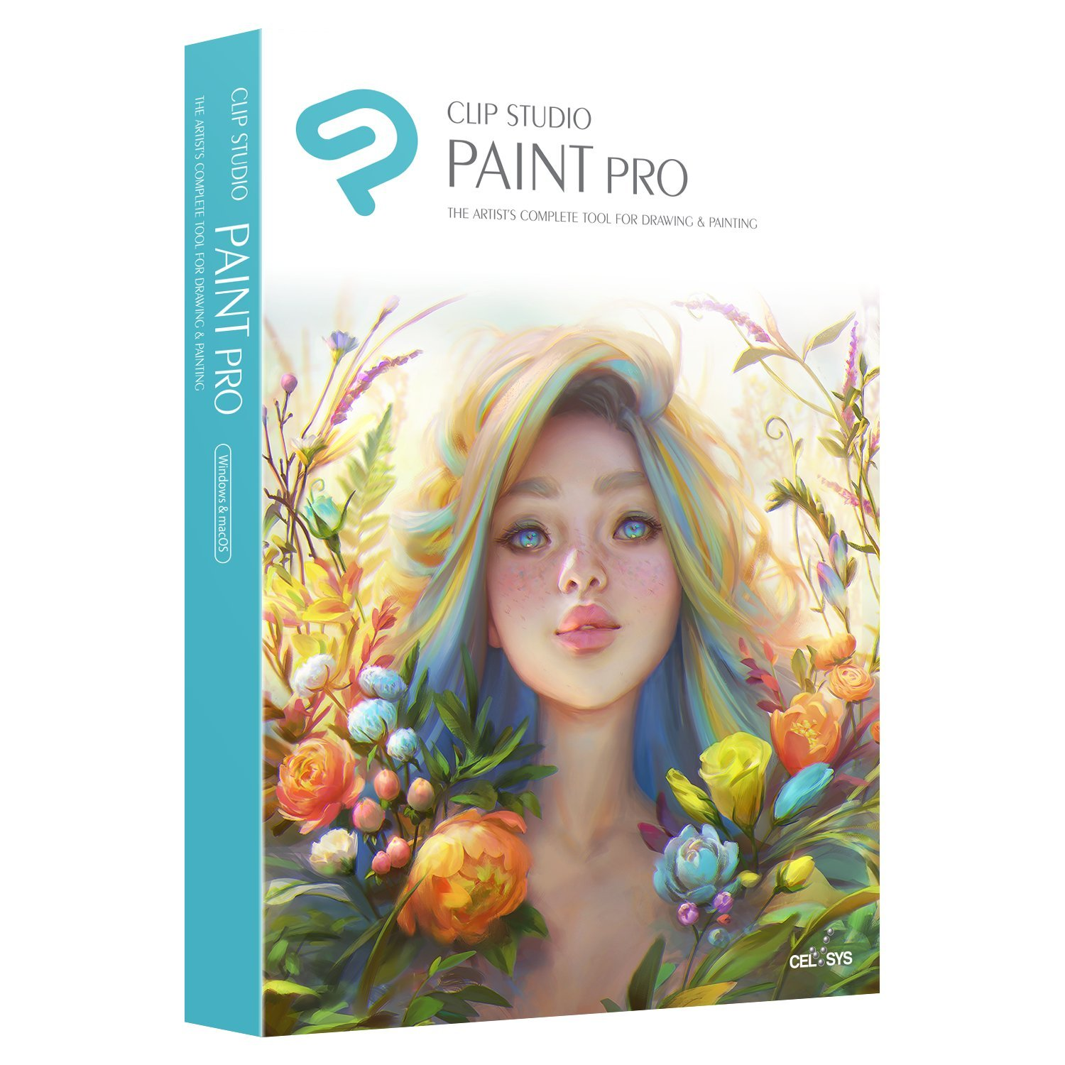 CLIP STUDIO PAINT PRO - NEW Branding - for Microsoft Windows and MacOS by Graphixly