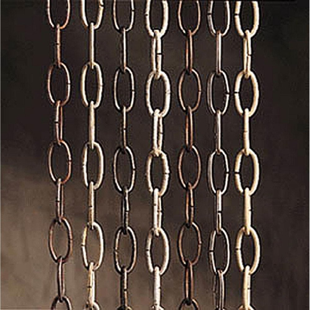 Kichler   4901NI 36-Inch Steel Heavy Gauge Lighting Chain, Brushed Nickel