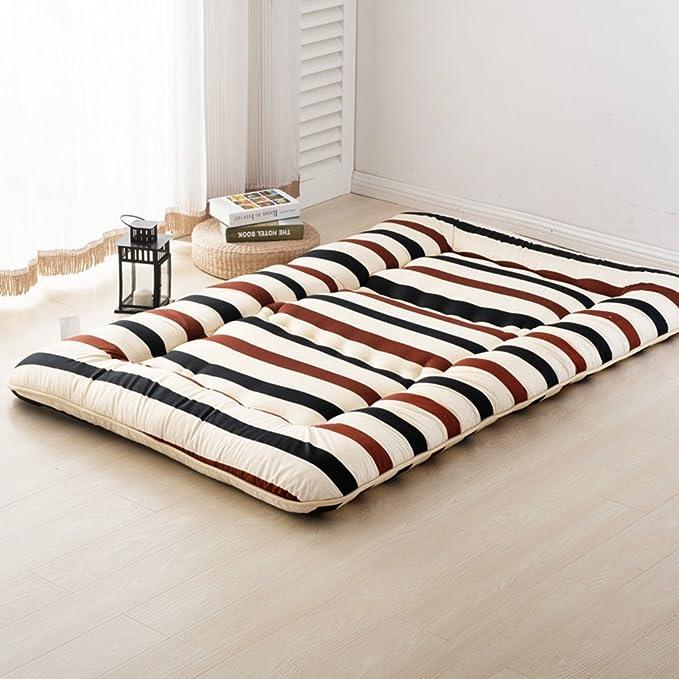 Amazon.com: GX&XD Thicken Collapsible Tatami Floor mat,Folding Mattress Floor Lounger Cover Floor Mattress Floor Tatami Mattress Mat-G 100x200cm(39x79inch): ...