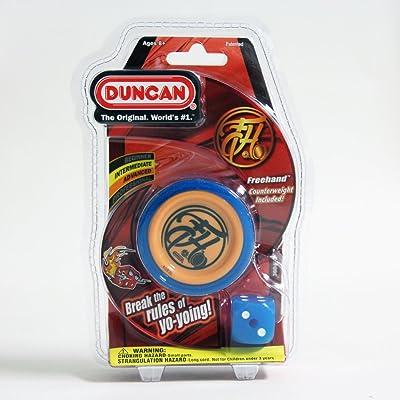 Duncan Freehand Yo-Yo (Blue/Orange): Toys & Games