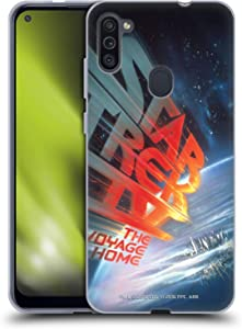 Head Case Designs Officially Licensed Star Trek The Voyage Home Movie Posters TOS Soft Gel Case Compatible with Samsung Galaxy M11 (2020)