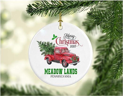 Christmas In Pennsylvania 2020 Amazon.com: Christmas Decoration Tree Merry Christmas Ornament