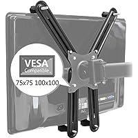 SAVONGA VESA ADAPTER Kit/ Set 522210L für Non-VESA TV Monitore ohne VESA Löcher / Bohrungen, kompatibel mit VESA-Halterungen 100x100 75x75, Traglast bis 8 kg