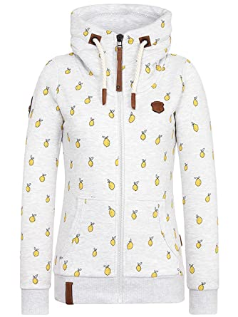 0accb0ff0107 Naketano Damen Kapuzenjacke That Is Your Oath Kapuzenjacke  Amazon ...