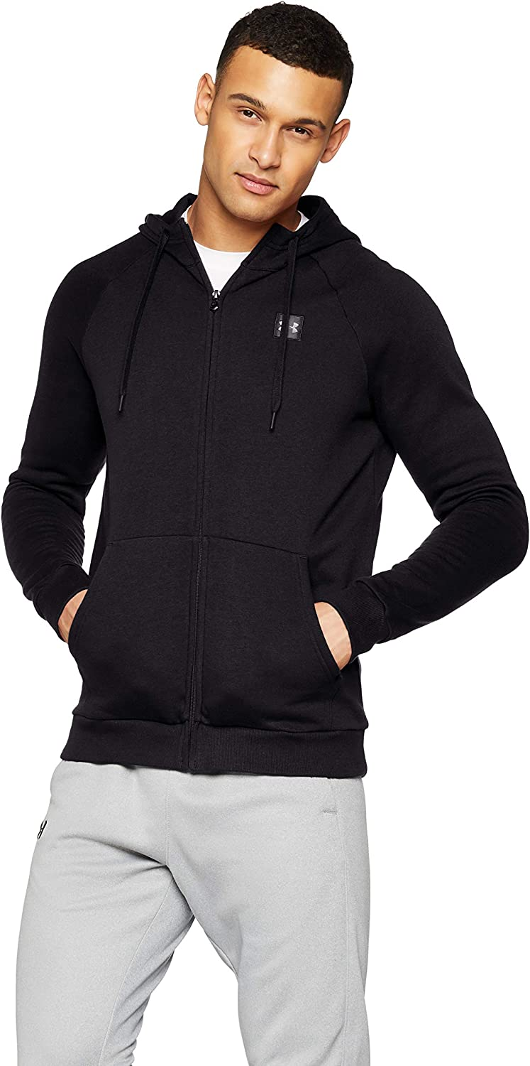 TALLA L. Under Armour Rival Fleece FZ Hoodie - Sudadera Hombre