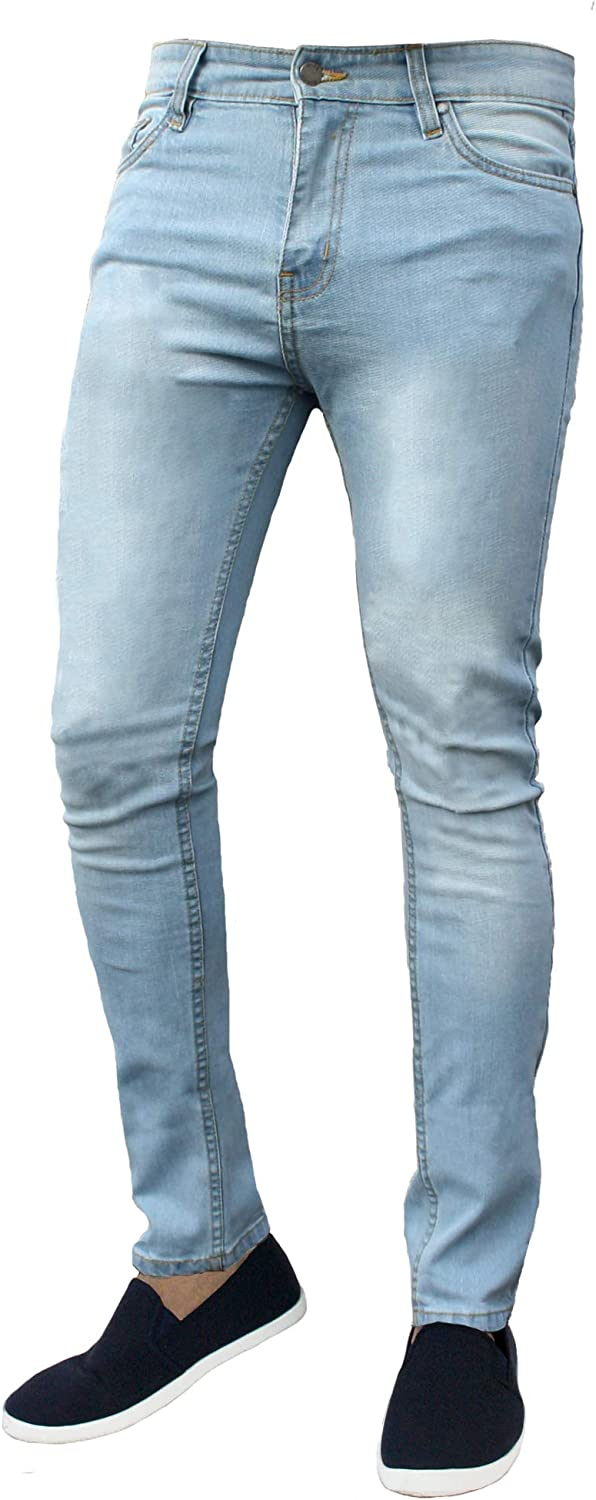 Mens G-72 Zip Fly Stretch Skinny Slim Fit Denim Jeans Cotton Trousers Pants