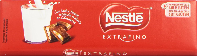 Nestlé Extrafino Chocolate con leche extrafino - 50 gr: Amazon.es: Alimentación y bebidas