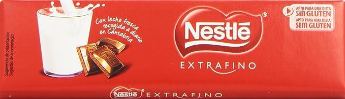 Nestlé Extrafino Chocolate con leche extrafino - 50 gr