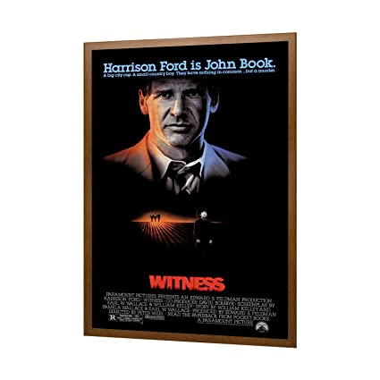 SnapeZo Movie Poster Frame 27x41 inches, Dark Wood Effect 1.25 ...