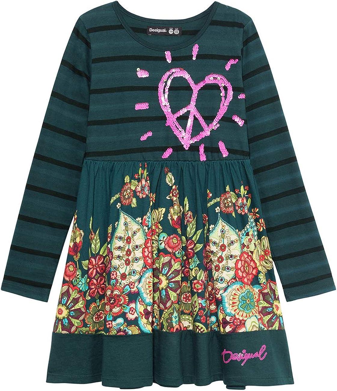 Desigual Dress Physalis Vestito Bambina