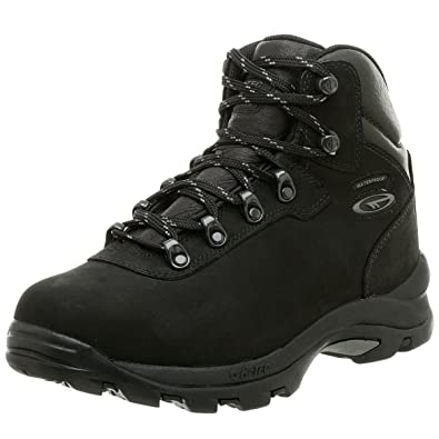 HiTec Mens Altitude IV Waterproof Hiking BootBlack
