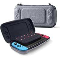 UGREEN Carry Case compatible for Nintendo Switch Storage Handle Cover Bag for NS, Ultra Slim Hard Shell with 10 Game…
