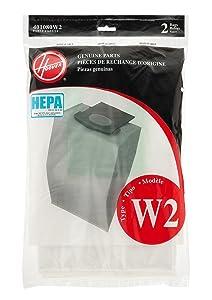 Hoover 2PK WT2 Repl Hepa Bag