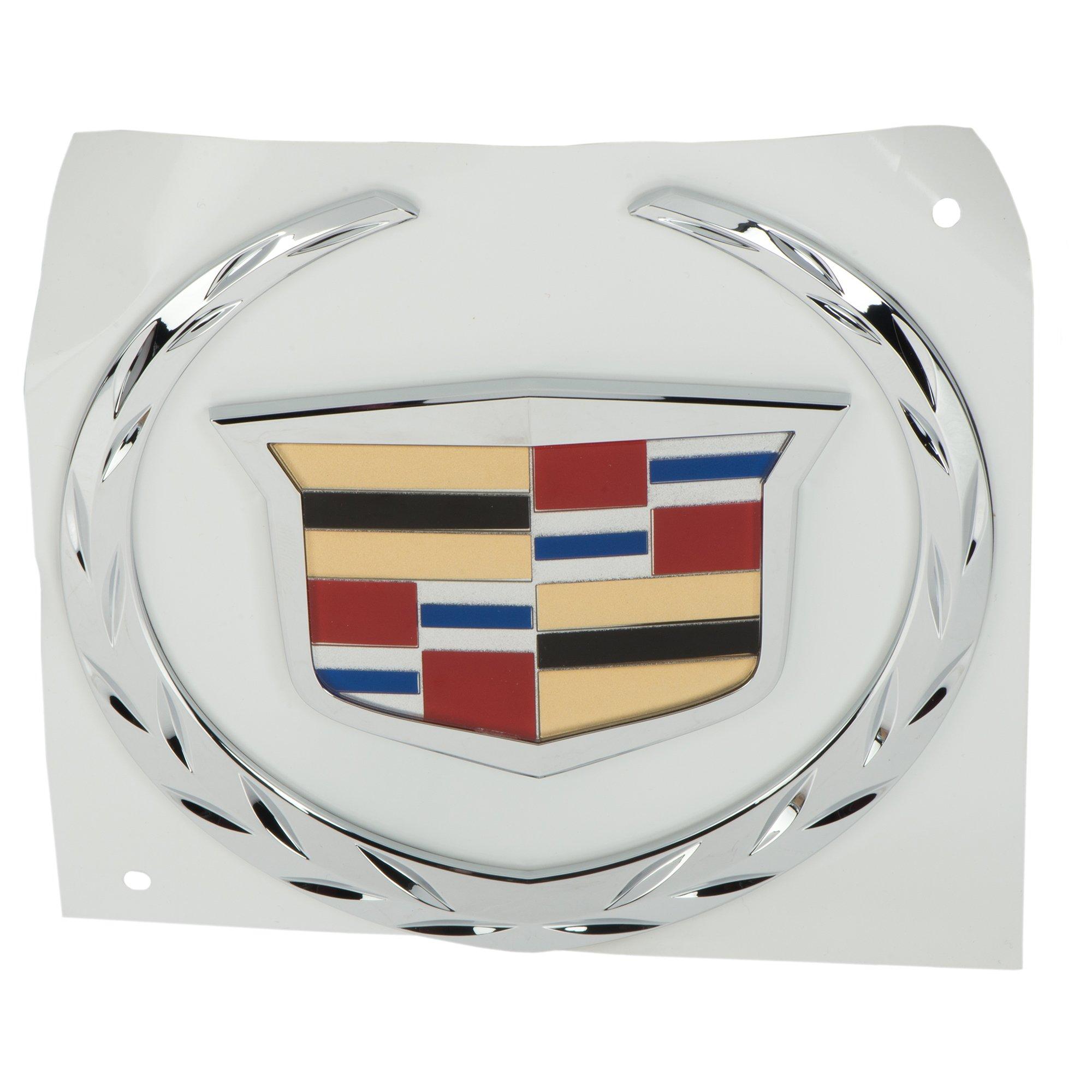 OEM NEW Front Grille Crest & Wreath Emblem Badge 2007-2014 Escalade 22985036