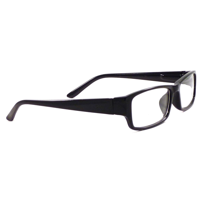 94d161bc7c Amazon.com  VINTAGE Style Designer Frame Clear Lens Eyeglasses BLACK   Clothing