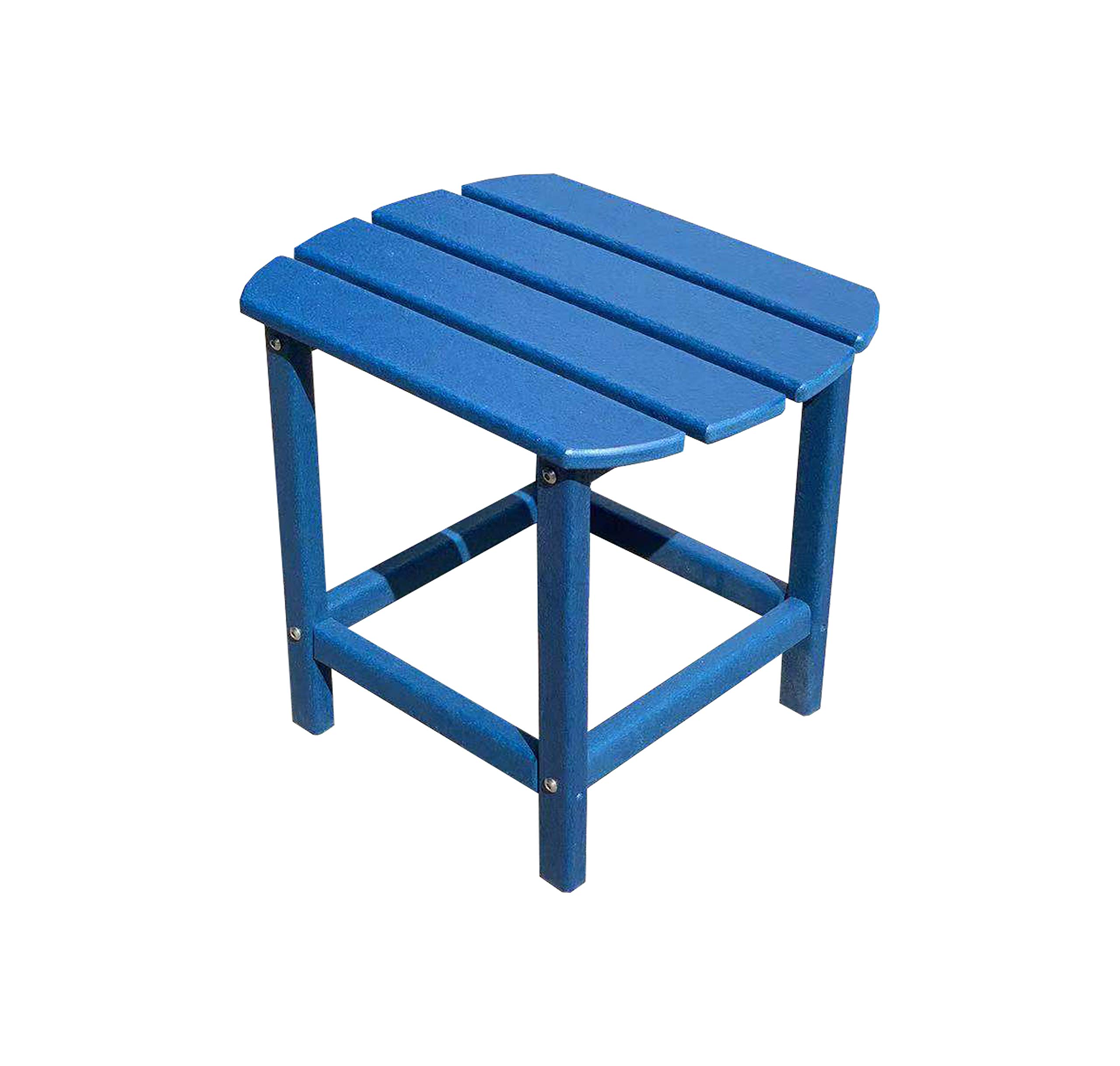 LuXeo LUX-1520-NVY-ST Corona Recycled Plastic Side Table, Navy by LuXeo