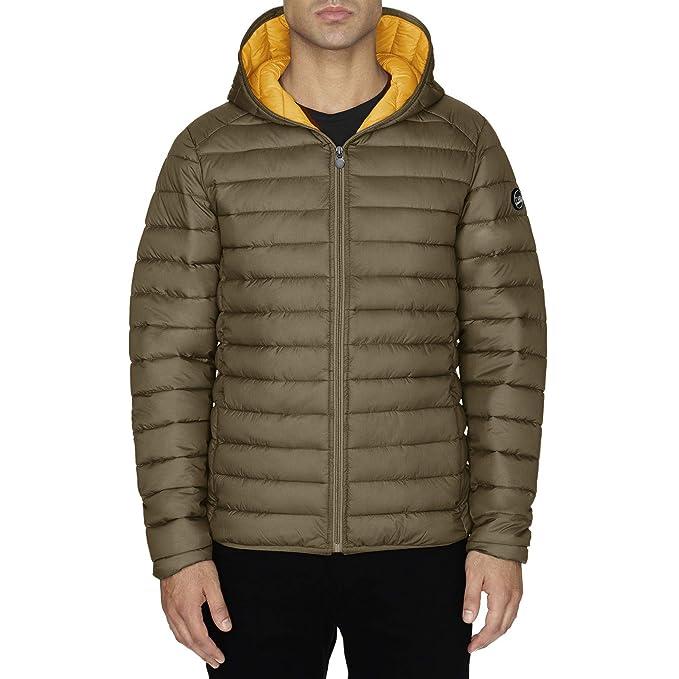Chaqueta Hombre TWIG Ultralight Jacket 100gr Ultra Ligera Abrigo Parka Capucha Military Green (M)