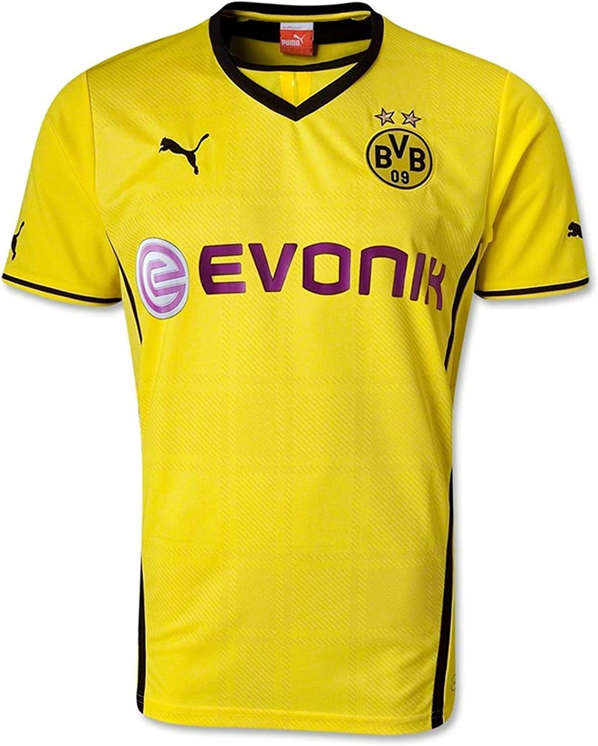 Amazon Com Puma Bvb Home Replica Shirt Blazing Yellow Black Xxl Sports Fan Jerseys Clothing