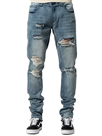 12a2fd290 Young and Reckless - Robertson Tapered Jeans - Indigo Blue - 28 - Mens -  Bottoms