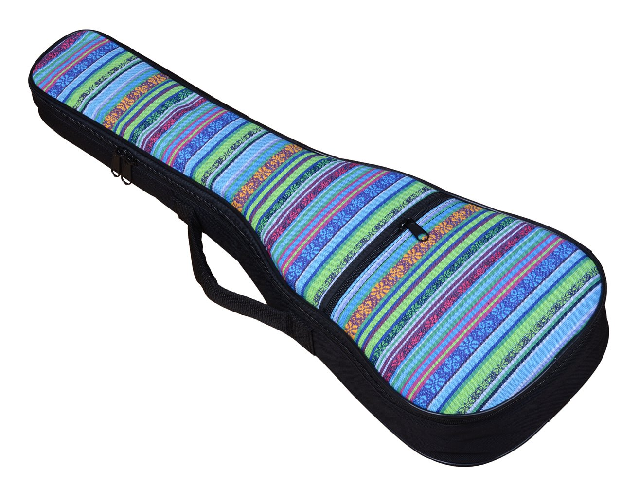 23//24 in, Geometry HOT SEAL 10MM Sponge Padding Durable Colorful ukulele Case Bag with Storage