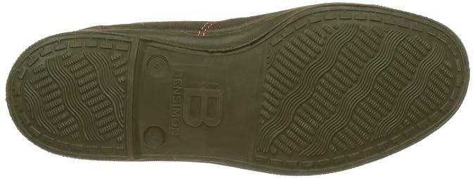Zapatillas Verde Lacet Tennis Bensimon Militaire Mujer Para kaki qp78Z