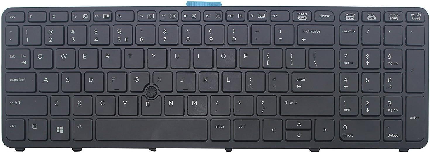 Original New For HP ZBook 15 17 15 G2 17 G2 733688-001 US Backlit keyboard