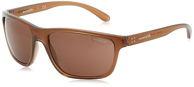 Arnette Herren Sonnenbrille 0AN4234 247473, Braun (Transparent Brown/Brown), 61