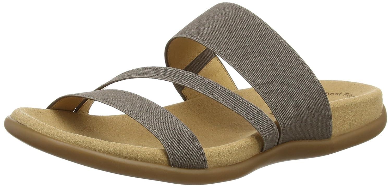 Gabor Shoes 43.702 Damen Pantoletten, Braun - Brown (Brown Elastic), 39 EU (6 UK)