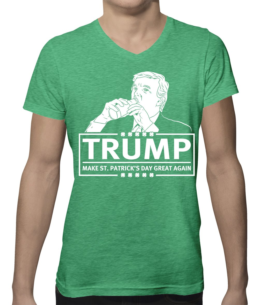 Apparel Trump Make St Patricks Day Great Again T Shirt 4500
