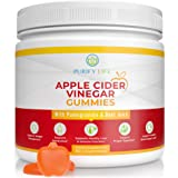 Apple Cider Vinegar Gummies - Unfiltered ACV (3 Month Supply) Weight Loss Alternative to Capsules and Pills for Belly…