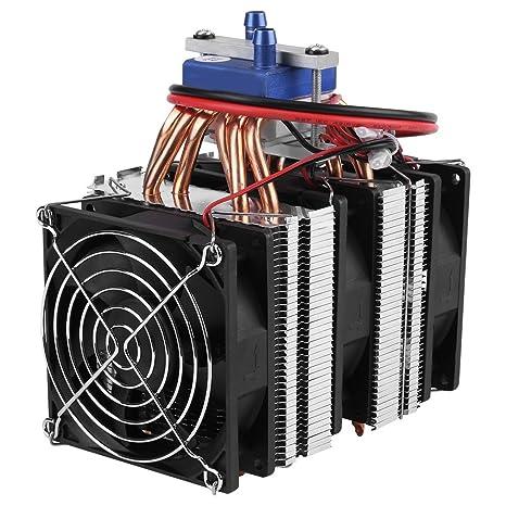 Hilitand DC 12V Refrigerador termoeléctrico de Agua de Refrigeración por Semiconductor del Sistema Peltier Refrigerador para
