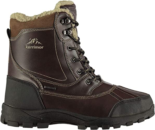 Karrimor Mens Casual Snow Boots Lace Up