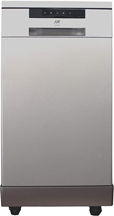 SD-9263SS: 18″ Energy Star Portable Dishwasher – Stainless Steel