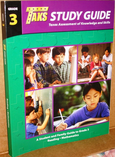 TAKS Study Guide: Texas Assment of Knowledge and Skills (Grade 3 Reading and Mathematics) ebook