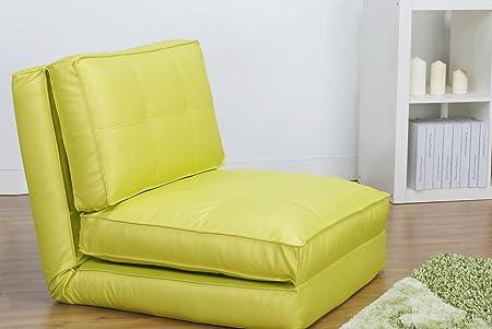 Sillón cama, verde claro, Grande