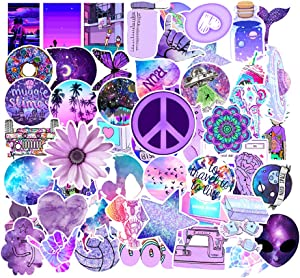 Cute Stickers for Water Bottles, 46 Pack Waterproof Cute Laptop Stickers for Guitar Computer Skateboard Snowboard Luggage Stickers, for Kids,Girls,Teens,Adults
