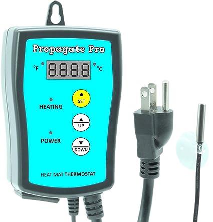 Amazon.com: Propagate Pro 110 V termostato termostato ...