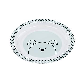 L/ÄSSIG Sch/üssel Kinder Baby Kleinkind rutschfest sp/ülmaschinenfest Melamin//Bowl Little Chums Dog