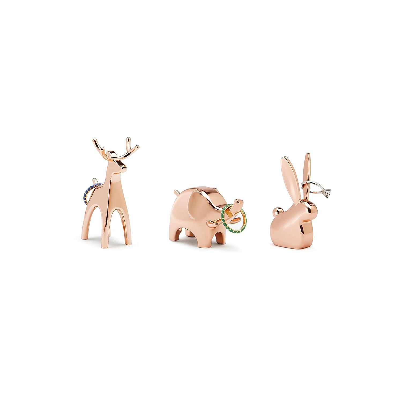 Umbra Anigram Ring Holder, Bunny, Copper 299118-880