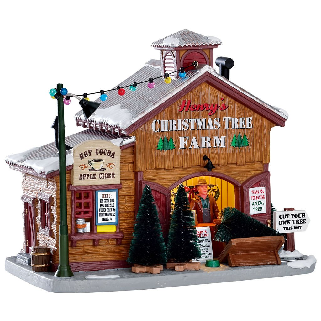 Lemax Exclusive Henry's Christmas Tree Farm