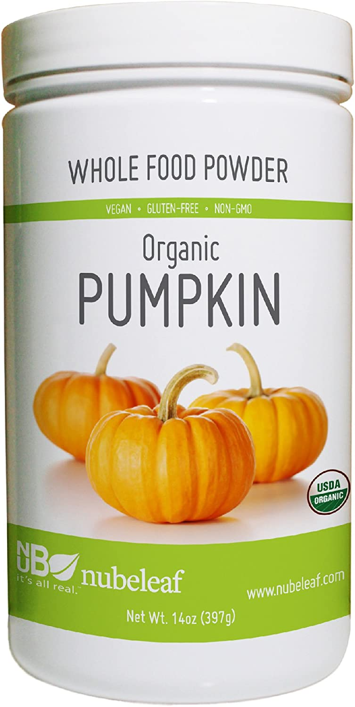 Nubeleaf Organic Pumpkin Powder 14oz. Jar