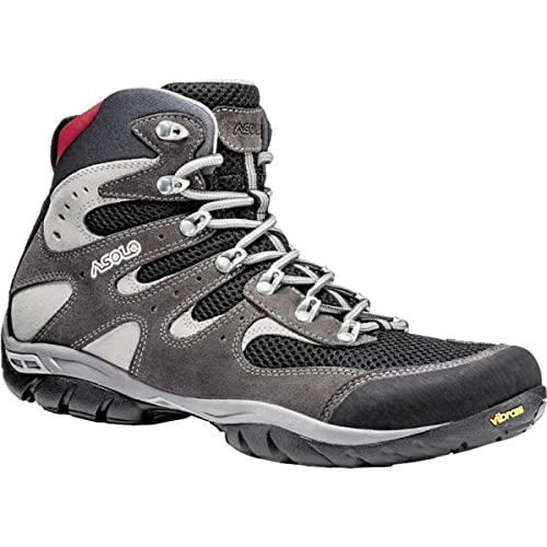 Asolo Piuma Boot - Men's Elephant / Black 7