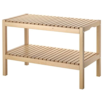 Incredible Amazon Com Ikea 402 414 51 Molger Bench Birch Kitchen Machost Co Dining Chair Design Ideas Machostcouk